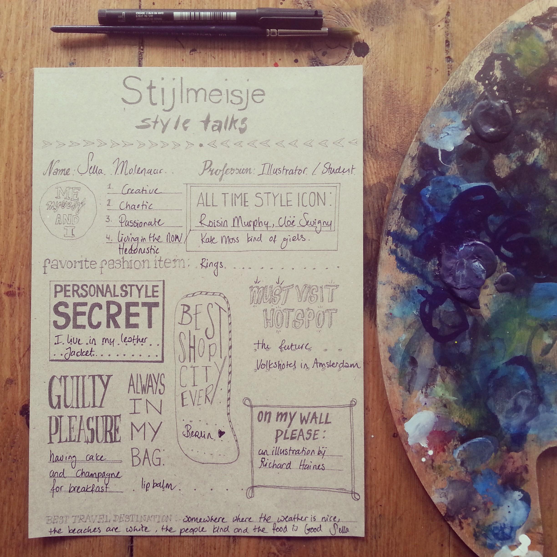Style Talks - Sella Molenaar - Stijlmeisje - Style Platform