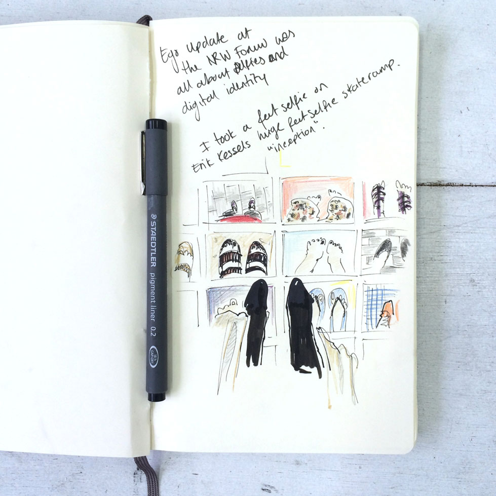 Travel: Düsseldorf – an illustrated art diary