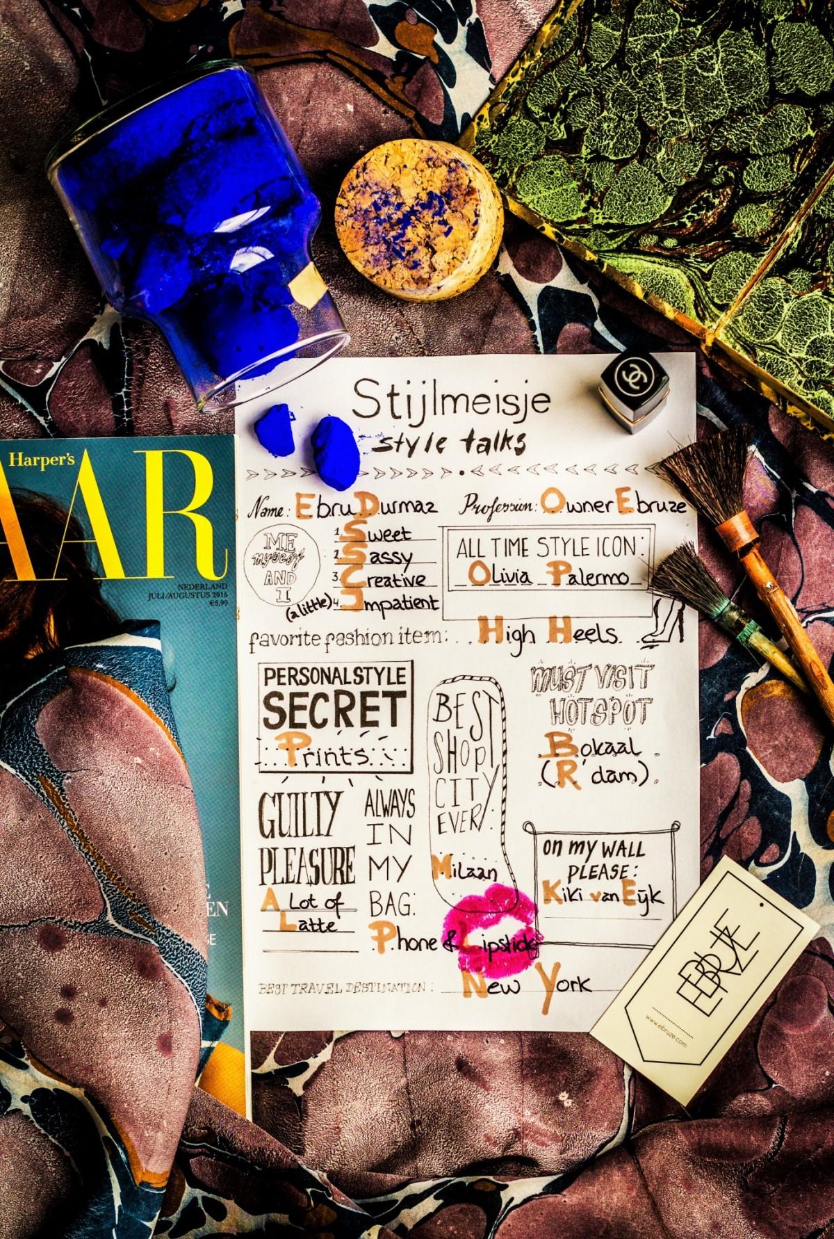 Style Talks - Ebruze - Stijlmeisje