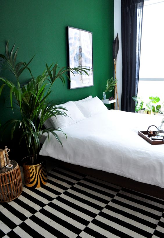 Colors that create depth in your minimal bedroom