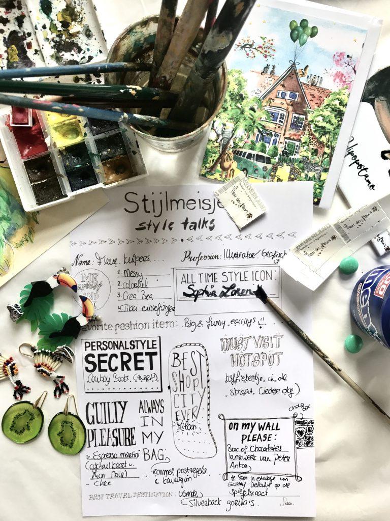 Style Talks - Fleur Kuipers - Stijlmeisje