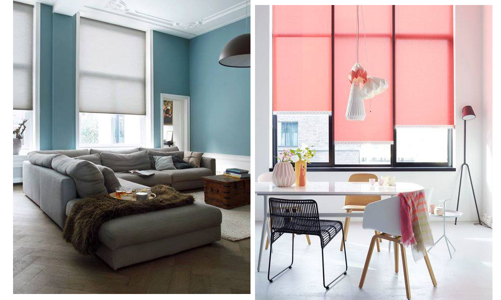 Interior inspo: how to style roller blinds