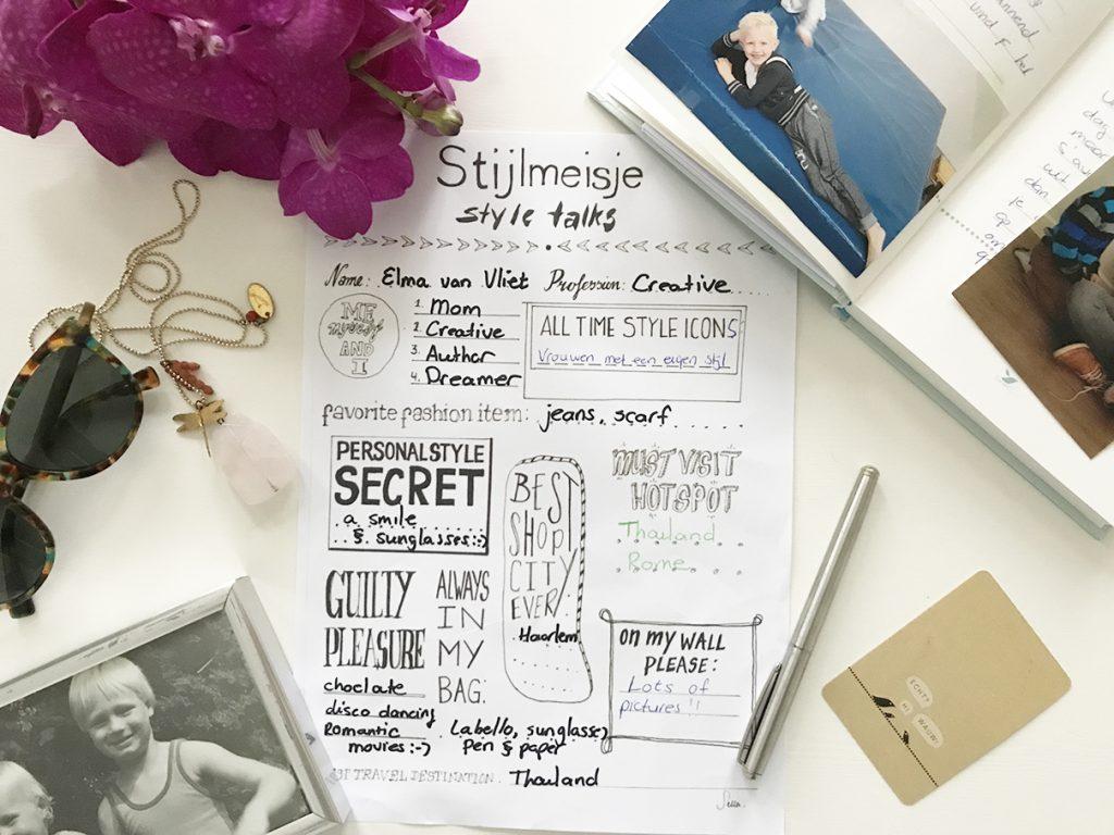 Style Talks - Elma van Vllet - Stijlmeisje