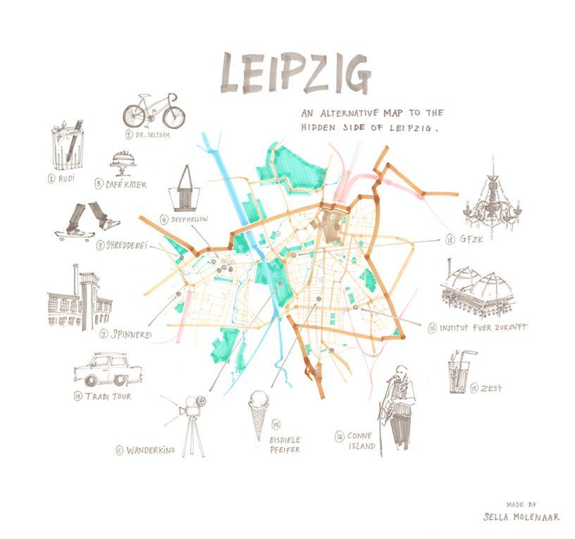 Hidden Leipzig - Stijlmeisje