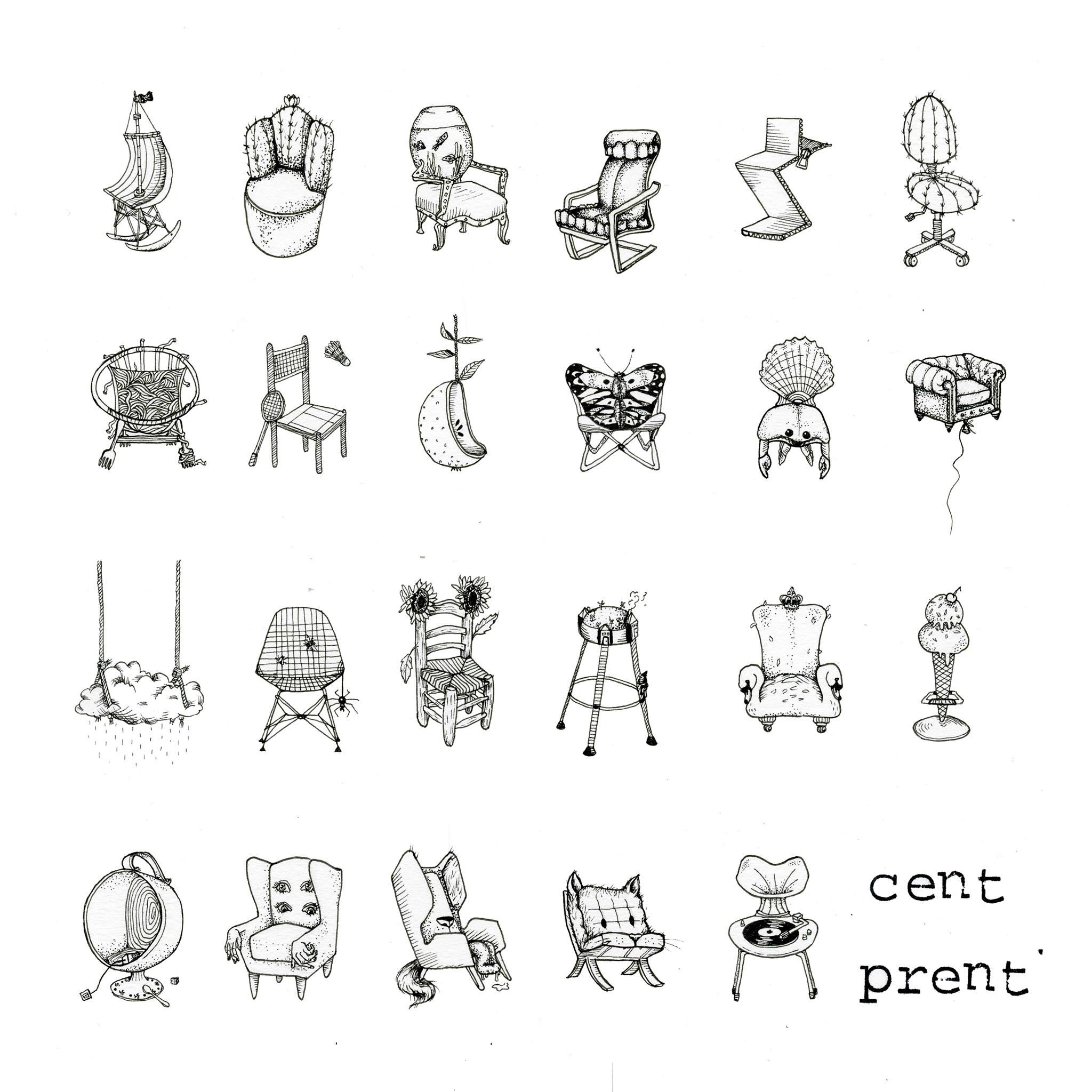 Chairs - Stijlmeisje
