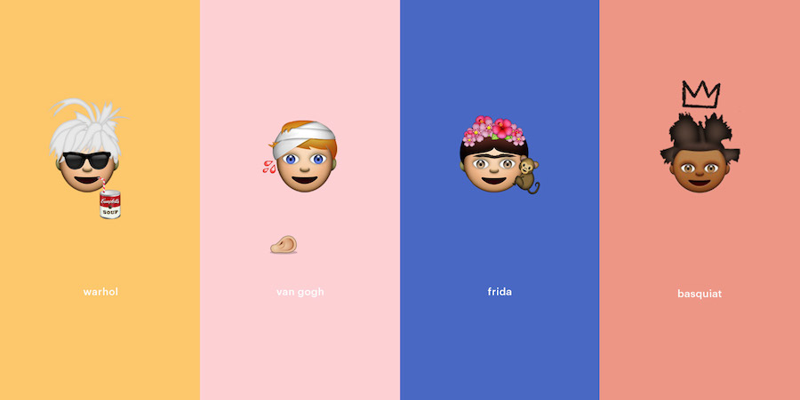 Artist Emojis - Stijlmeisje