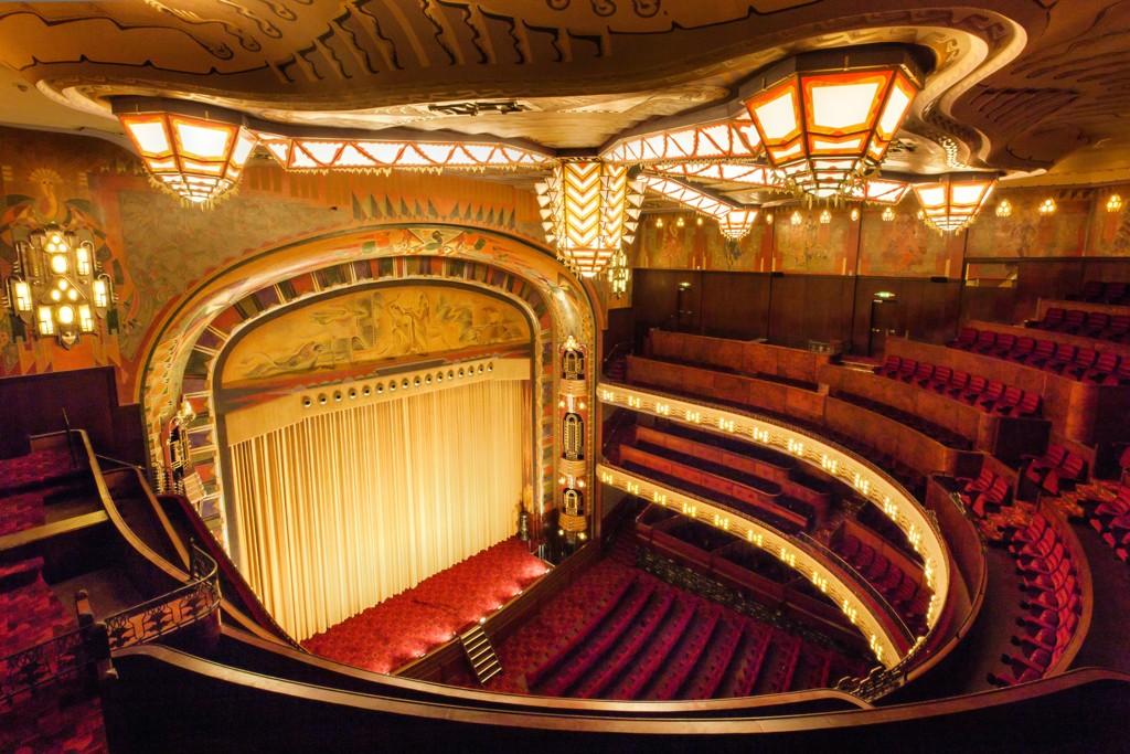 the Tuschinski movie theater in Amsterdam