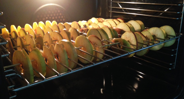Recipe - Apple rings - December - Stijlmeisje