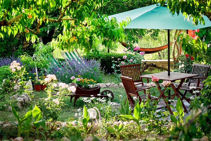 Van je tuin genieten het hele jaar rond