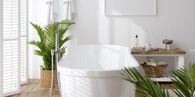 Zo breng je de lente in jouw badkamer